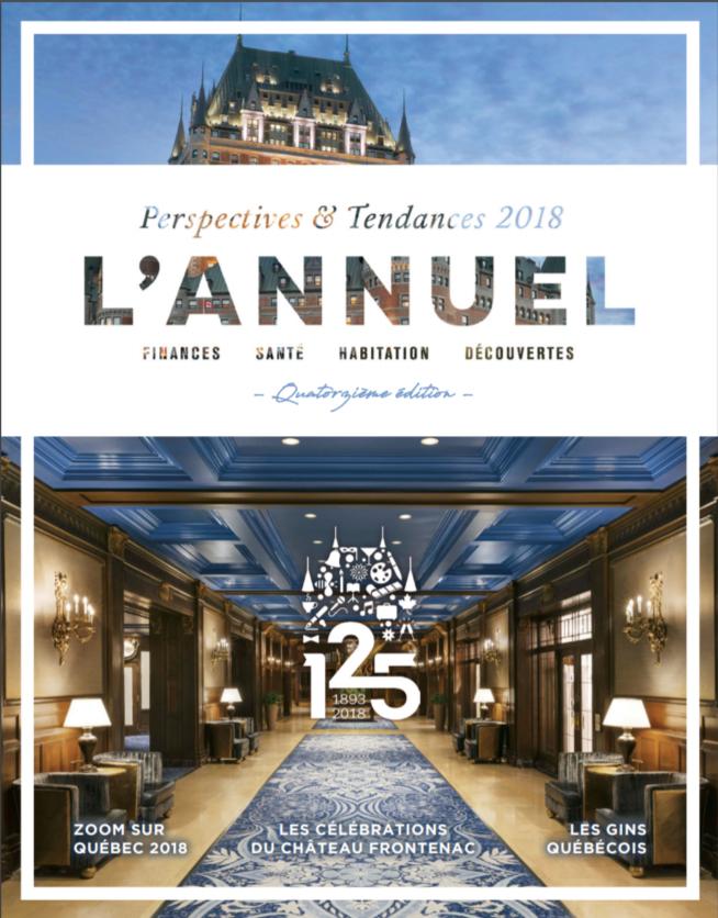 Édition 2018 du Magazine L'Annuel
