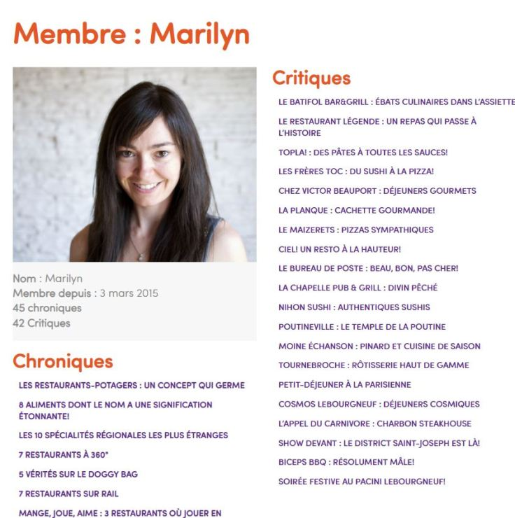 Marilyn Préfontaine